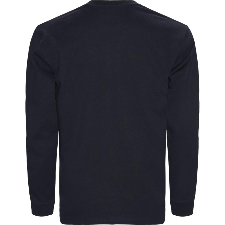 L/S CHASE I026392 - L/S Chase Tee - T-shirts - Regular - DARK NAVY/GOLD - 2